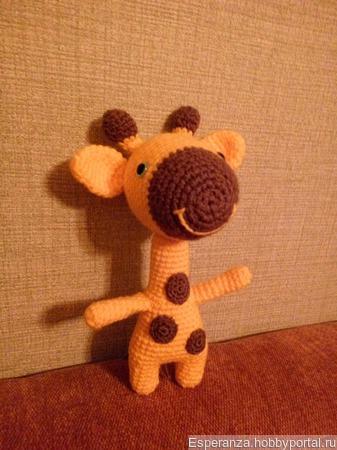 Веселый жирафик ручной работы на заказ