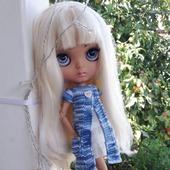 Летний кардиган для куколки Блайз