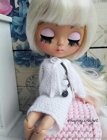 Платье для куколки Блайз ручной работы на заказ