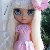 Платье для куколки Блайз