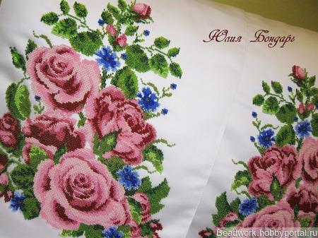 Свадебный рушник ручной работы на заказ