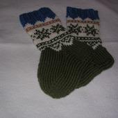 Носки вязанные для ребенка