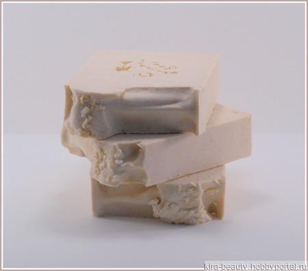 Кокосовое молоко. Натуральное мыло ручной работы на заказ