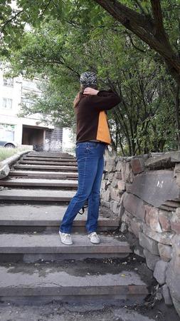 """Свитерок """"Городская осень"""" ручной работы на заказ"""