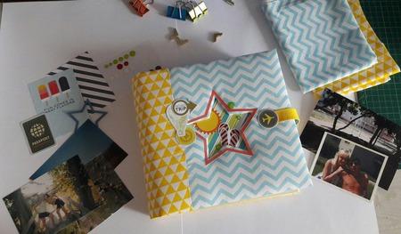 Тревелбук (фотоальбом для путешествий) ручной работы на заказ