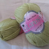 Пряжа Baby wool от Lanoso