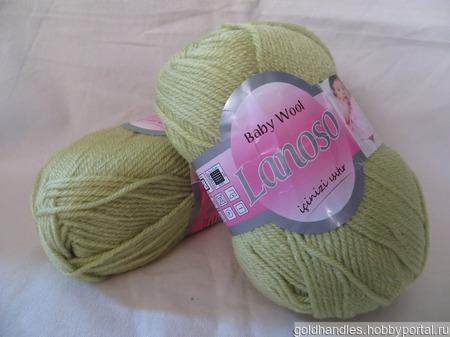 Пряжа Baby wool от Lanoso ручной работы на заказ