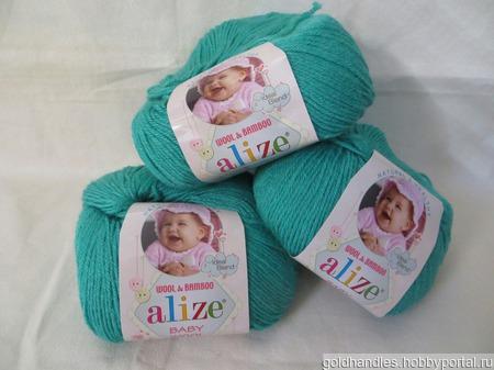 Пряжа Baby wool от Alize ручной работы на заказ