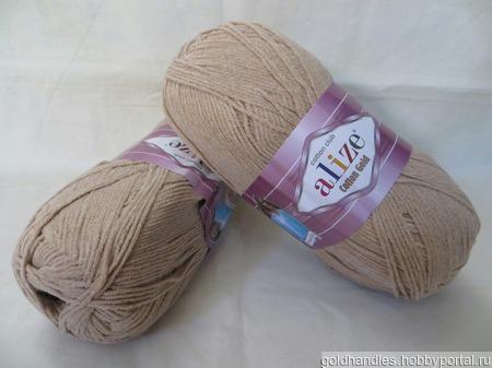 Пряжа Cotton gold от Alize ручной работы на заказ