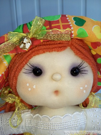 Кукла-пакетница ручной работы на заказ