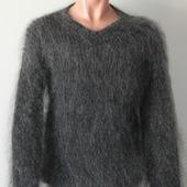 """Пуховый вязаный свитер""""Стиль""""."""