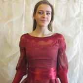"""Платье на выпускной для настоящей принцессы """"Малиновый бутон"""""""