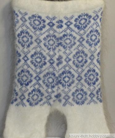 Пуховые шорты для будущих мам ручной работы на заказ