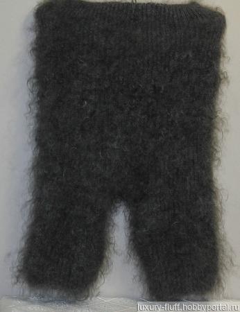 Пуховые вязаные панталоны. ручной работы на заказ