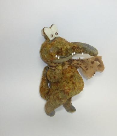Мой веселый крокодил. ручной работы на заказ