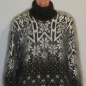 "Пуховый свитер ""Айсберг""."