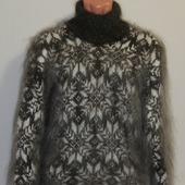 """Пуховый свитер """"Снегопад"""""""