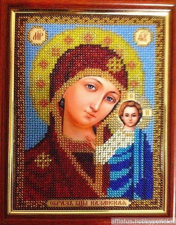 Казанской Божьей Матери ручной работы на заказ
