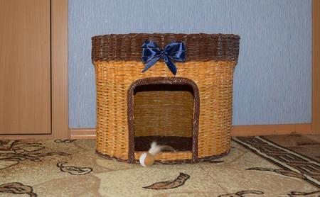 Кошкин  дом (большой) ручной работы на заказ