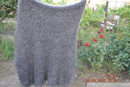 Пуховый платок палантин ручной работы на заказ