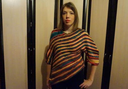 Пуловер в стиле бохо ручной работы на заказ