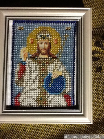 Икона Алтарная Царь Славы ручной работы на заказ