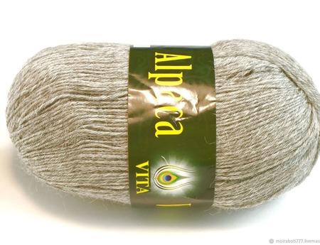 Пряжа Alpaca Wool от Vita (Альпака Вул) ручной работы на заказ