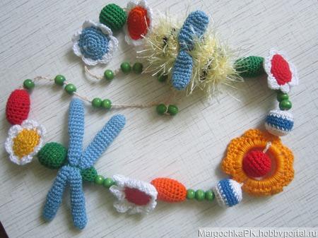 Шмелики-стрекозки ручной работы на заказ