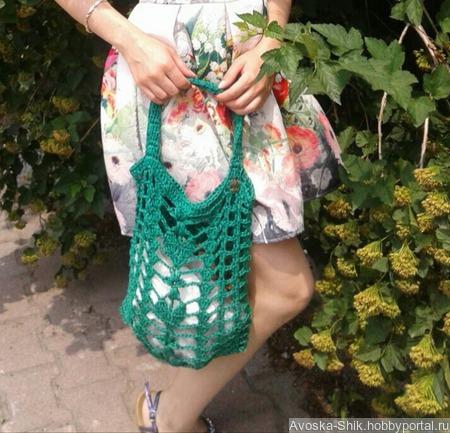 Авоська-сумка ручной работы на заказ