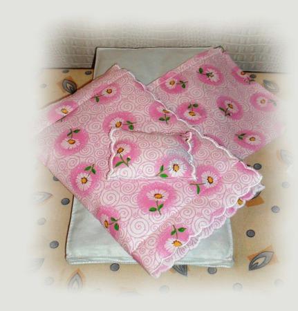 Кукольный дом 1/6 (размера Барби) - Постельное белье ручной работы на заказ
