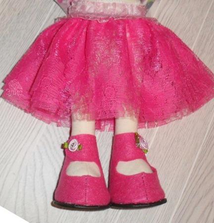 Юбочка-пачка  для куклы ручной работы на заказ
