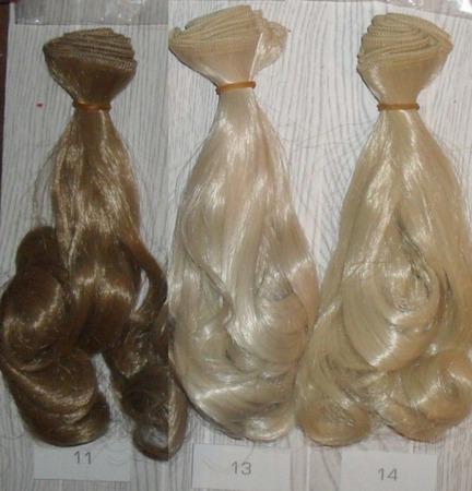 Трессы, волосы для кукол ручной работы на заказ