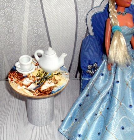 Кукольный дом - посуда для кукол ручной работы на заказ