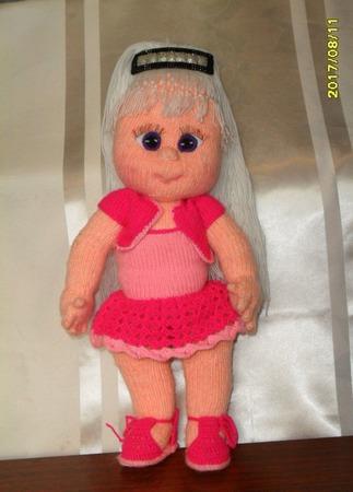 Кукла Роза ручной работы на заказ