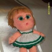 Кукла-пупс Анюта ручной работы