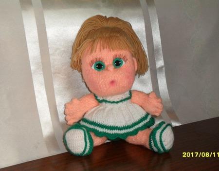 Кукла-пупс Анюта ручной работы ручной работы на заказ