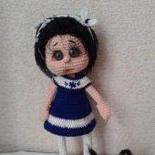 Кукла Соня с собачкой Кляксой