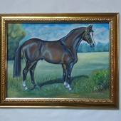 фото: Картины и панно (красивая лошадь)