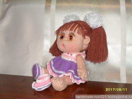 Кукла-пупс Наташа ручной работы на заказ
