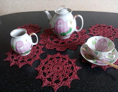 """""""Красный дракон""""- для Чайной церемонии ручной работы на заказ"""