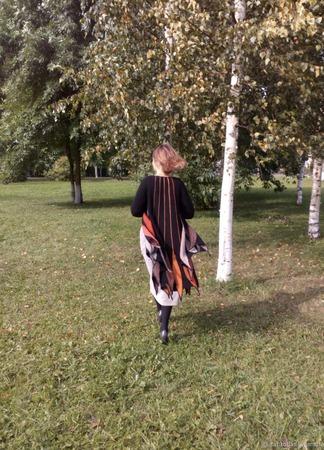 """Кардиган """" Осень"""" ручной работы на заказ"""