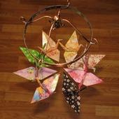 "Поющий ветер ""Журавлики-оригами"""