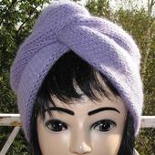 Вязаная шапка чалма-тюрбан
