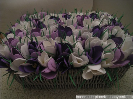 Цветы из фоамирана ручной работы на заказ