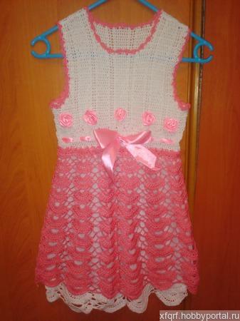 Платье детское ручной работы на заказ