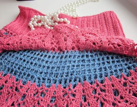 Юбка-шорты для девочки 6-7 лет ручной работы на заказ