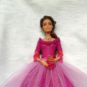 """""""Трепетная надежда""""- платье для барби"""