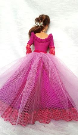 """""""Трепетная надежда""""- платье для барби ручной работы на заказ"""