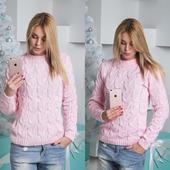 Вязаный свитер ручной вязки в Москве