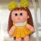 Кукла-пупс Машенька ручной работы